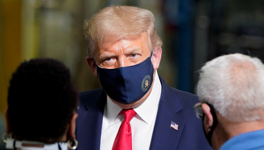 Email reveals: Lost face mask for everyone