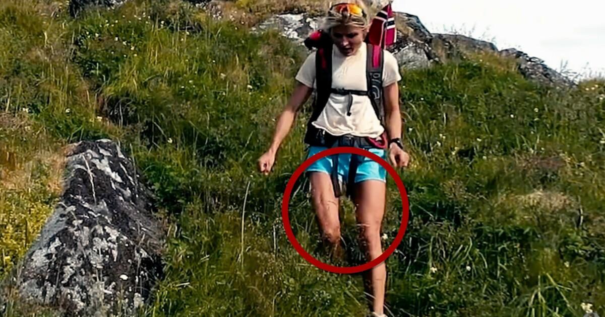 Therese Johaug fikk hakeslepp da hun så ned på egne bein
