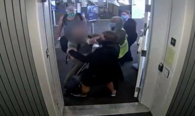 Image: Angriper på flyplassen