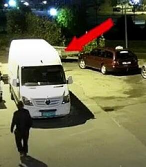Image: Tyvene vet ikke at Viktor er i bilen