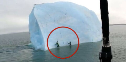 Image: Isfjellet velter
