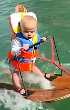 Image: Baby med uoffisiell verdensrekord