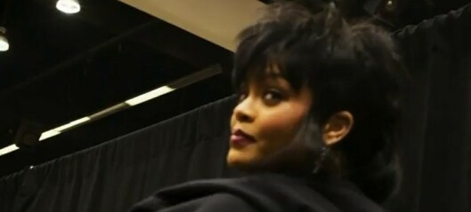 Rihanna overrasket med ny sveis