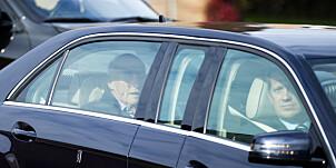Image: Kongen har forlatt sykehuset