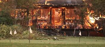 Berømt restaurant i flammer: - Knust