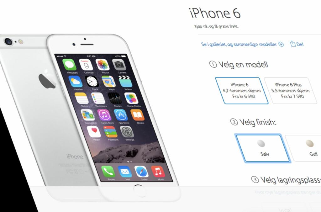 pris iphone 6 16gb