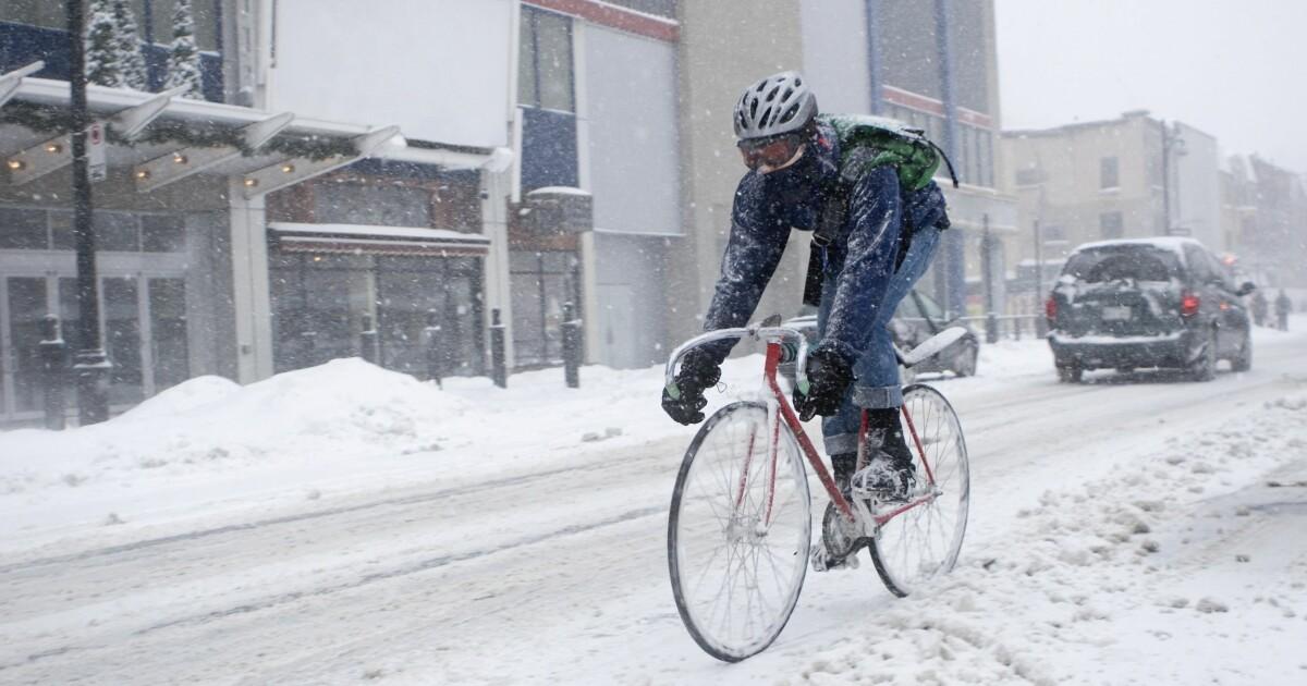 ... : Hvordan få flere til å sykle til jobben – hele året - DinSide