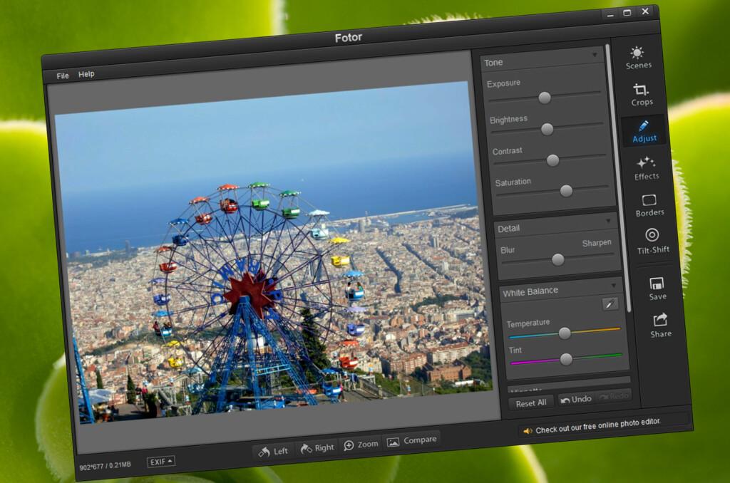 Bilde- og grafikk: Fotor - Superenkel bildebehandling til PC og Mac - DinSide