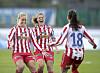 HOLDER KOKEN: Avaldsnes slo Vålerenga borte og presser LSK Kvinner på toppen av tabellen. Bildet er ikke fra kampen i dag.<br>Foto: Terje Pedersen / NTB Scanpix