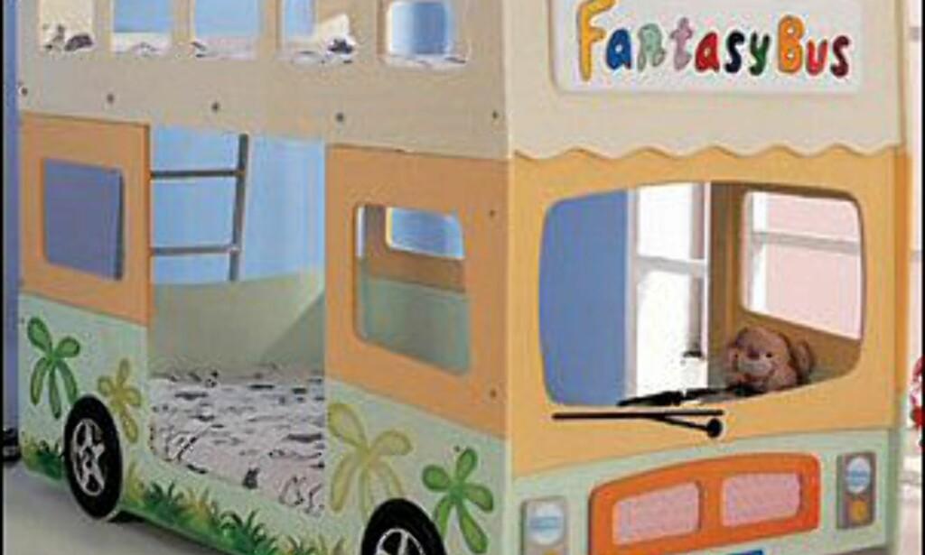Ting Til Barnerommet : Sov p? bussen denne kreative sengen er sett hos ...
