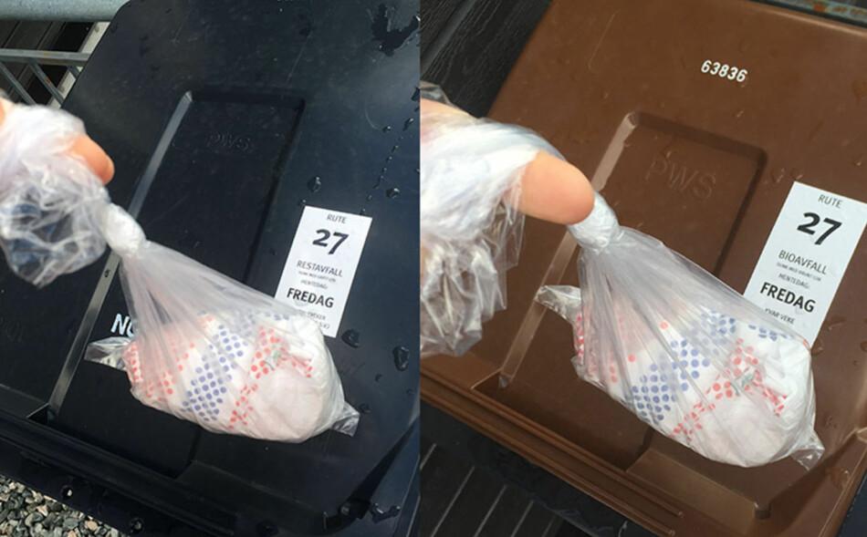 Kildesortering av bleier - Skal bleier kastes i restavfall eller matavfall? - DinSide