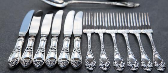 Image: Vi prøvde å selge sølvtøyet vårt. Her er prisene vi fikk