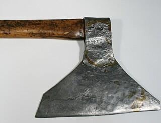 Image: Den siste halshuggingen i Norge skjedde med denne øksen