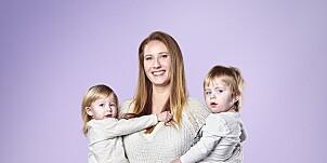 Image: Fikk tvillinger med to ulike fedre