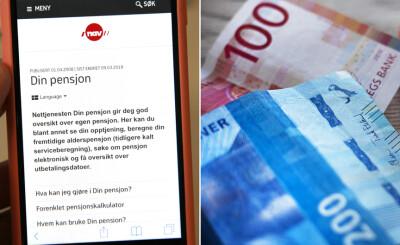 Image: Glemmer du å søke om pensjon, får du faktisk mer utbetalt