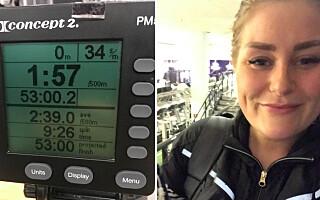 Image: - Du skal ro 10 000 meter før jobb. Mitt svar: Er du gal?!