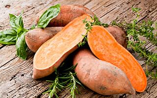 Image: Er søtpotet sunnere enn potet?