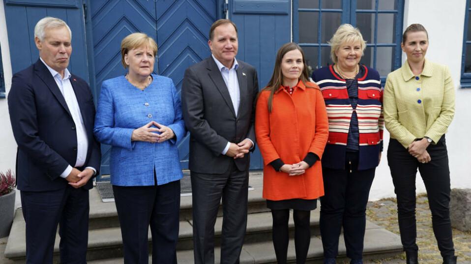 Erna Solberg avbrøt Island-tur for å løse bompengestriden