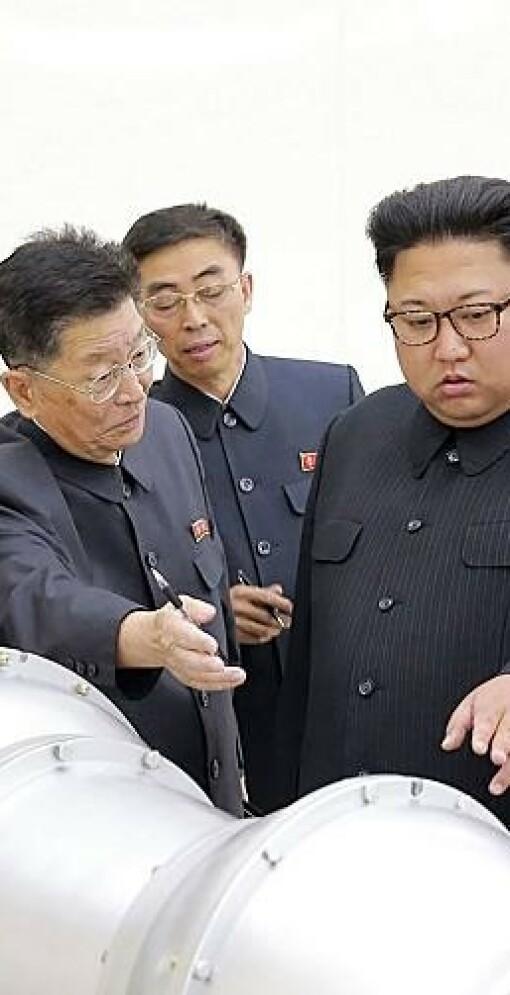 Lekket rapport: Nord-Korea har miniatyr-atomvåpen