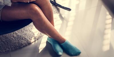 Image: «Sarah» tjener penger på å selge brukte sokker