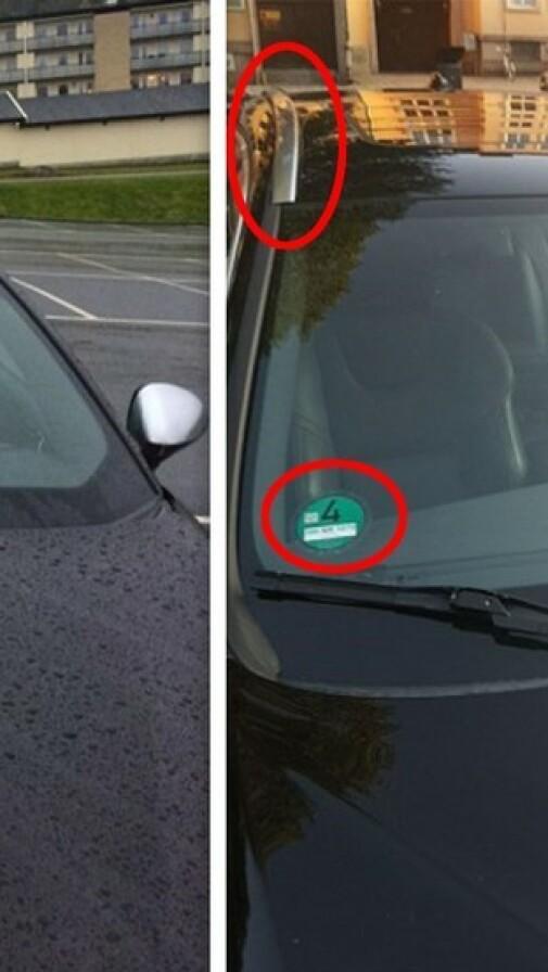 Da p-selskapet sendte over bildebeviset, var det fra en bil føreren aldri hadde sett