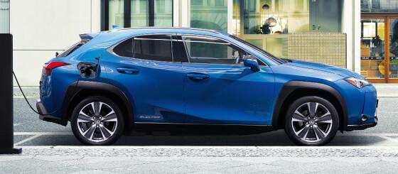 Image: Elektrisk Lexus fra ca. 350.000