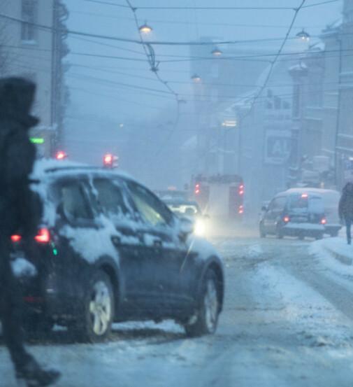 Farevarsel i Sør-Norge: Nå kommer snøen