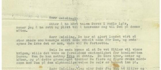 Image: Ingrids brev fikk nazistene til å se rødt