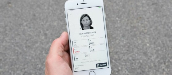 Image: Lanserer to nye førerkort-funksjoner