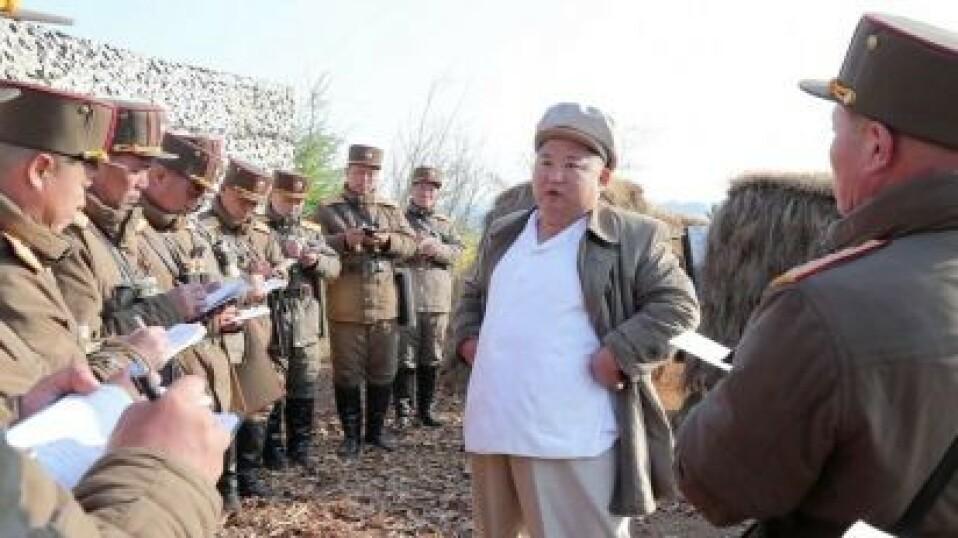 Mens verden frykter pandemi - sprer Kim Jung-un frykt