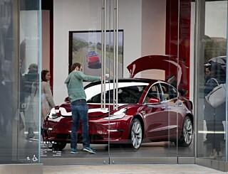 Image: Tesla tjener rått på andre bilprodusenter