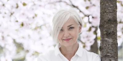 Image: Mette har ikke farget håret på over tjue år