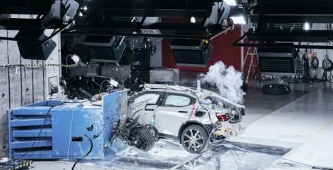 Image: Nå kommer Polestar med bilkrasj-basseng: - Livsfarlig uten