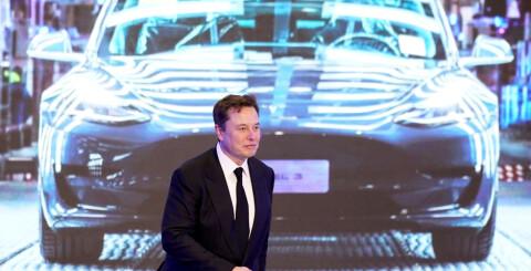Image: Tesla blir kina-bil