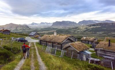 Image: På to hjul gjennom tre nasjonalparker på fire dager