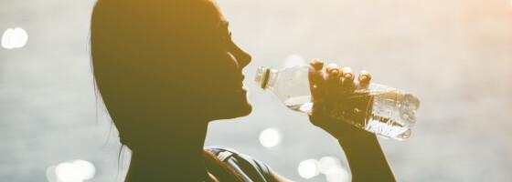 Image: Tegnene på at du har drukket for lite vann