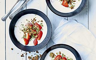 Image: Dansk sommerklassiker til dessert i dag? Ja, takk!