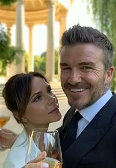 Image: Deler private bilder på bryllupsdagen