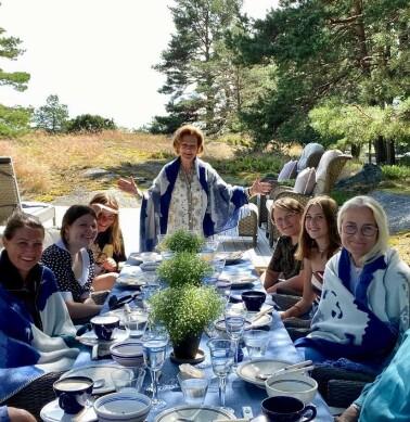 Image: Deler privat bilde fra Mågerø