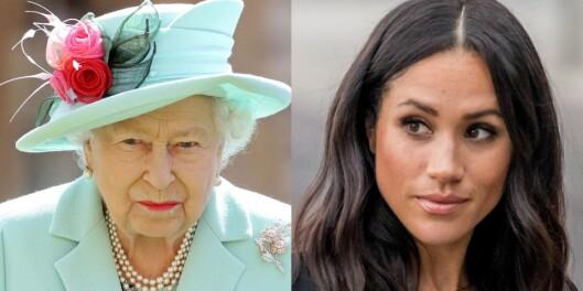 Image: Dronningens harde budskap til Meghan