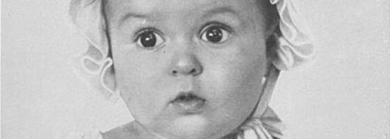 Image: Nazistenes ariske prakteksemplar var jødisk jentebaby