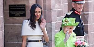 Image: Dronningens overraskende gest