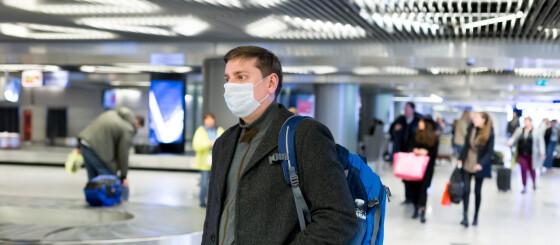 Image: Slik bruker du munnbind trygt og riktig