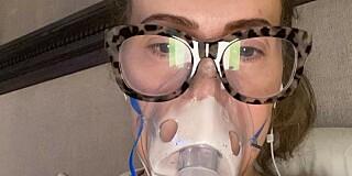 Image: Ut mot coronatesting:-Trodde jeg var døende