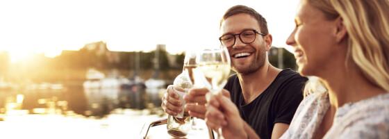 Image: Åpnet vinflaske? Så lenge holder den seg