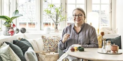 Image: I Vibekes hjem går det skandinaviske hånd i hånd med det japanske
