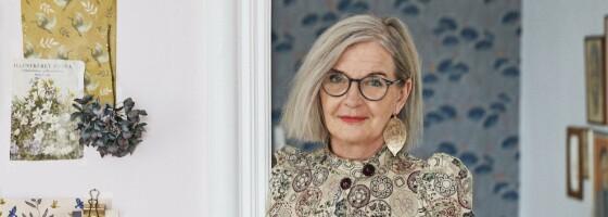 Image: Eva-Marie har innredet leiligheten med respekt for fortiden