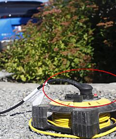 Image: Farlig elbiltabbe