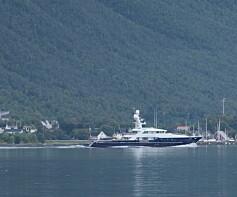 Image: Superyacht i Norge