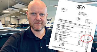 Image: Trond fikk prissjokk